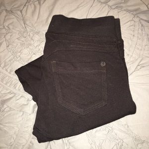 Jolt Brown Leggings • Size 1